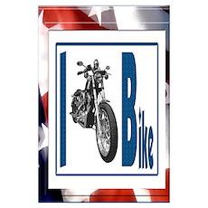 I Bike Poster