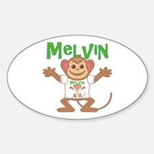 Little Monkey Melvin Decal