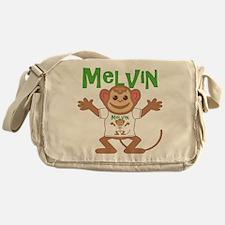 Little Monkey Melvin Messenger Bag