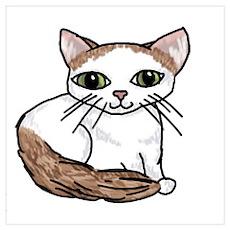 Turkish Van Cat Lover Poster