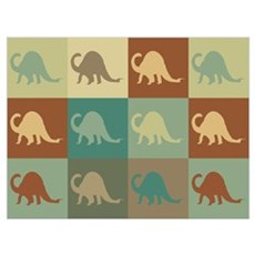 Paleontology Pop Art Poster