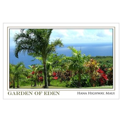 Garden of Eden Maui (11x17) Poster