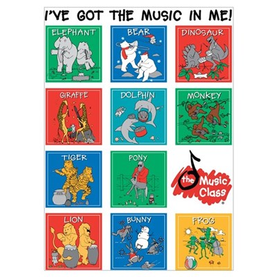 The Music Class Collections Poster