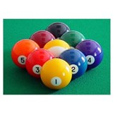 9 ball Wrapped Canvas Art