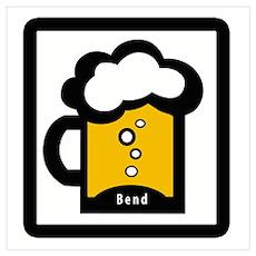 Bend Beer Poster