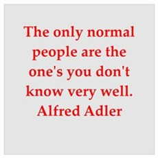 Alfred Adler quotes Canvas Art