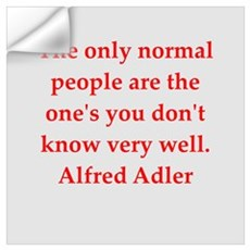 Alfred Adler quotes Wall Decal