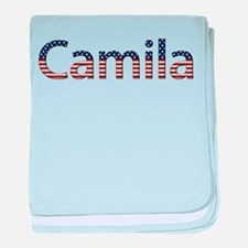 Camila Stars and Stripes baby blanket