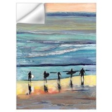 Surfers by RD Riccoboni Wall Decal