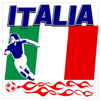 Italian soccer Poster