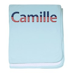 Camille Stars and Stripes baby blanket