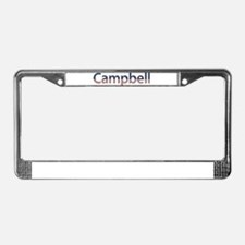 Campbell Stars and Stripes License Plate Frame