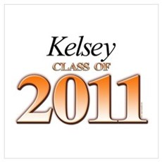 Kelsey's Class of 2011 Poster