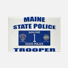 Maine State Police Rectangle Magnet