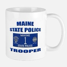 Maine State Police Mug