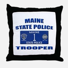 Maine State Police Throw Pillow