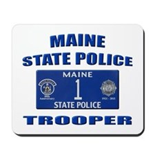 Maine State Police Mousepad