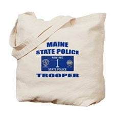 Maine State Police Tote Bag