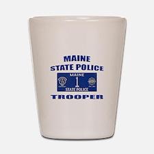 Maine State Police Shot Glass