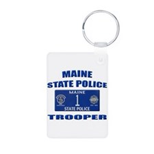 Maine State Police Keychains