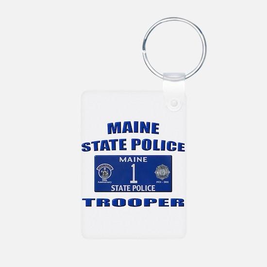 Maine State Police Keychains