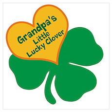 Lucky Clover/Grandpa Poster