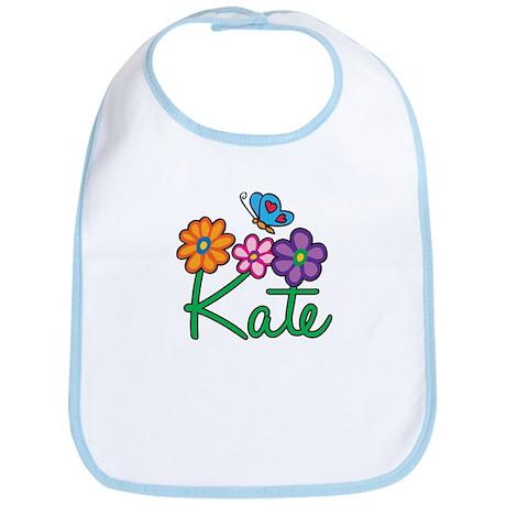 Kate Flowers Bib