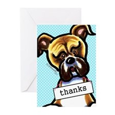 Funny Boxer Greeting Cards (Pk of 20)