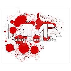 Blood Splatter 02 Poster