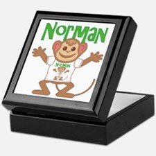 Little Monkey Norman Keepsake Box