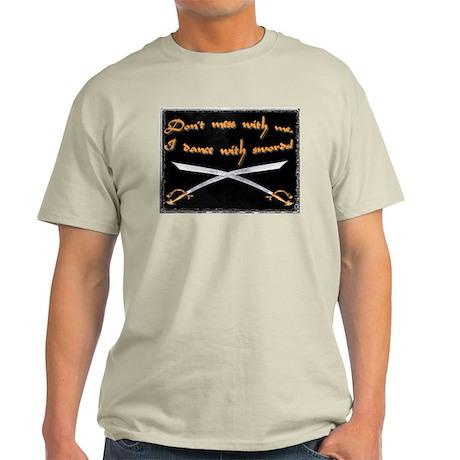 Scimitar Warning Ash Grey T-Shirt