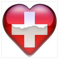 Thailand Heart Poster