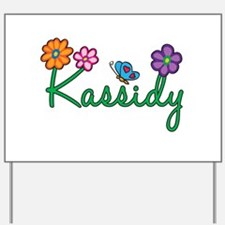Kassidy Flowers Yard Sign