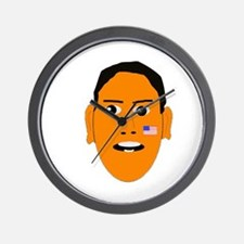 Obama face Wall Clock