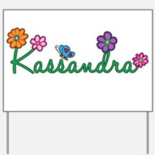 Kassandra Flowers Yard Sign