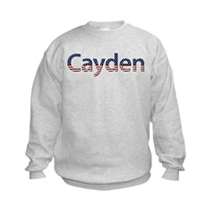 Cayden Stars and Stripes Sweatshirt