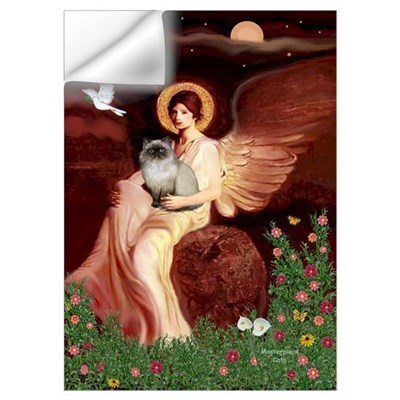 Seated Angel/ Wall Decal