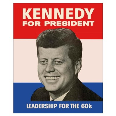 John F. Kennedy Presidential Campaign Poster