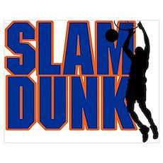 Slam Dunk Basketball Poster