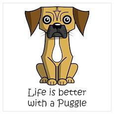 Puggle Poster