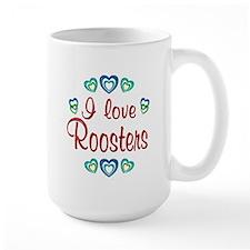 I Love Roosters Mug