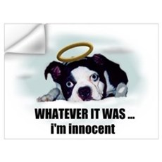 WHATEVER IT WAS I'M INNOCENT Wall Decal