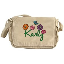 Karly Flowers Messenger Bag