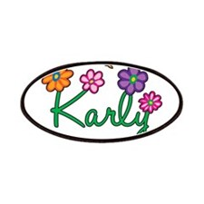Karly Flowers Patches