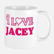I Love Jacey Mugs