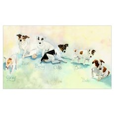 The Jack Russells Poster