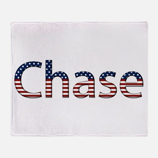 Chase Stars and Stripes Throw Blanket