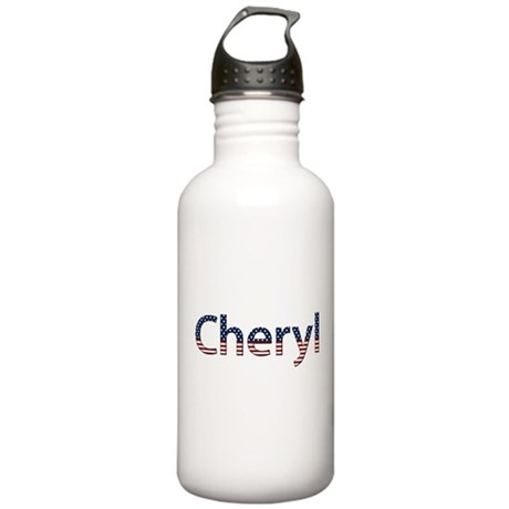 Cheryl Stars and Stripes Stainless Water Bottle 1.