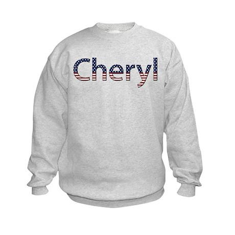 Cheryl Stars and Stripes Kids Sweatshirt