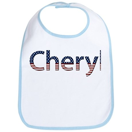 Cheryl Stars and Stripes Bib